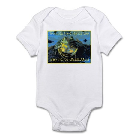 Froggies Have Rights Too Infant Bodysuit