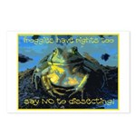 Froggies Have Rights Too Postcards (Package of 8)