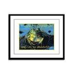 Froggies Have Rights Too Framed Panel Print