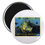 "Froggies Have Rights Too 2.25"" Magnet (100 pack)"