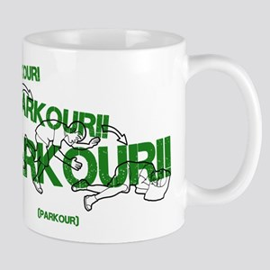 Realistic Parkour Style Mugs