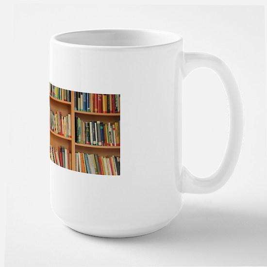 Bookshelf Books Mugs