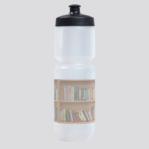 Bookshelf Books Sports Bottle