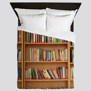 Bookshelf Books Queen Duvet