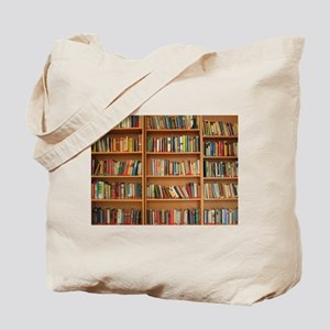 Bookshelf Books Tote Bag