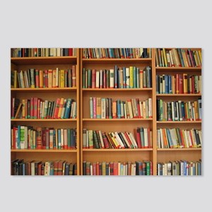 Bookshelf Books Postcards (Package of 8)