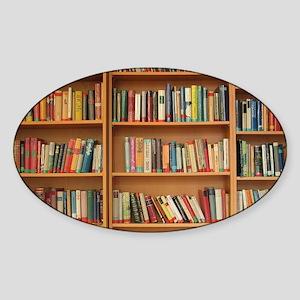 Bookshelf Books Sticker