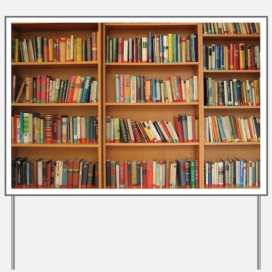 Bookshelf Books Yard Sign