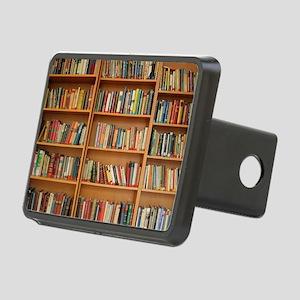 Bookshelf Books Rectangular Hitch Cover