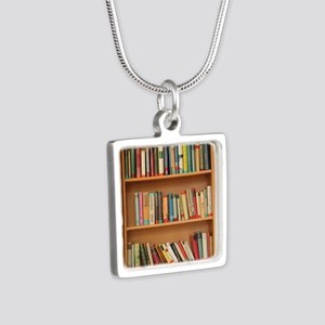 Bookshelf Books Necklaces