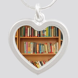 Bookshelf Books Necklaces