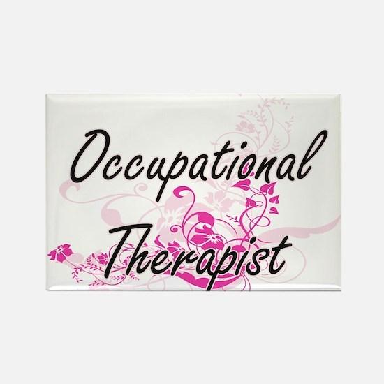 Occupational Therapist Artistic Job Design Magnets