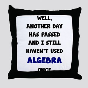 Another Day Has Passed And I Still Ha Throw Pillow