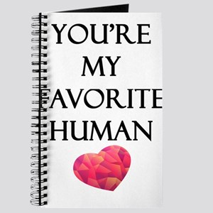 You're My Favorite Human Journal