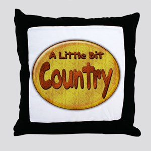 Country Western Throw Pillow