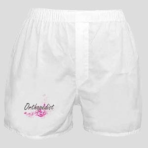 Orthopedist Artistic Job Design with Boxer Shorts