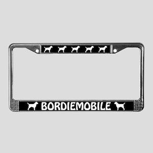 Bordiemobile Border Terrier License Plate Frame