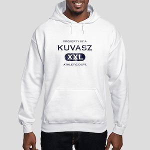 Property of Kuvasz Hooded Sweatshirt