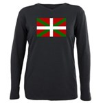 Basque Flag Plus Size Long Sleeve Tee