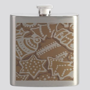 Christmas Gingerbread Flask