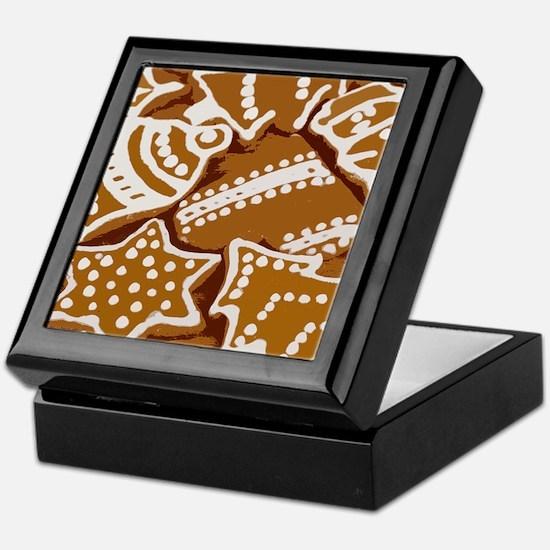 Christmas Gingerbread Keepsake Box
