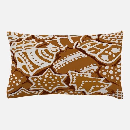Christmas Gingerbread Pillow Case