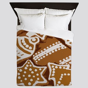 Christmas Gingerbread Queen Duvet
