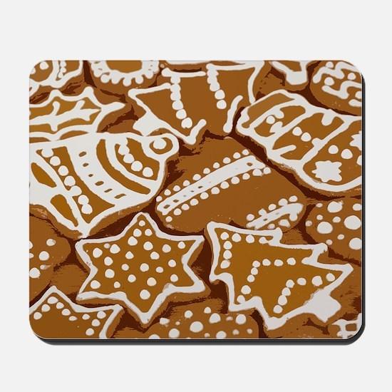 Christmas Gingerbread Mousepad