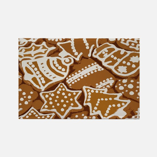 Christmas Gingerbread Magnets
