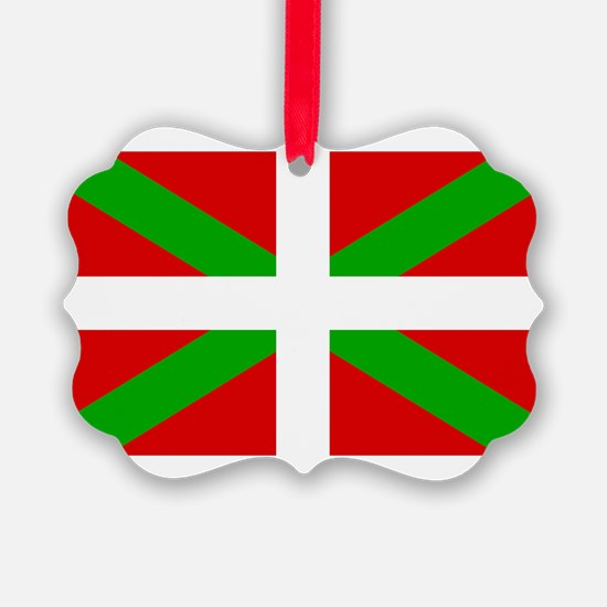 Basque Flag Ornament