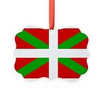 Basque Flag Picture Ornament