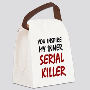 You Inspire My Inner Serial Kille Canvas Lunch Bag