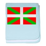 Basque Flag baby blanket
