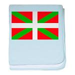 Basque Flag baby blanket