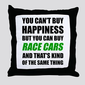 You Can't Buy Happiness But You Can B Throw Pillow