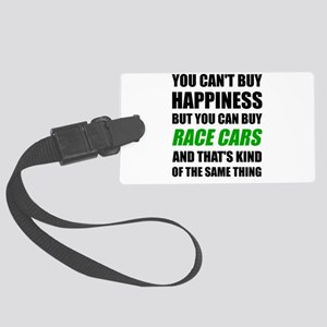 You Can't Buy Happiness But You Large Luggage Tag