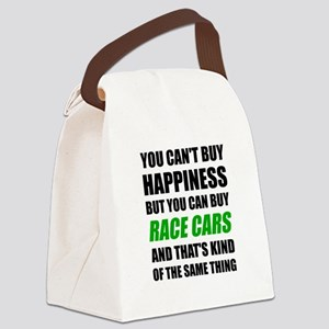 You Can't Buy Happiness But You C Canvas Lunch Bag