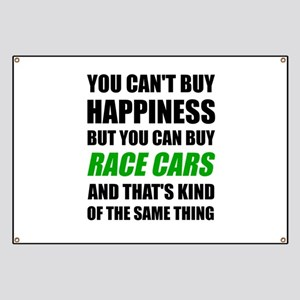 You Can't Buy Happiness But You Can Buy Rac Banner