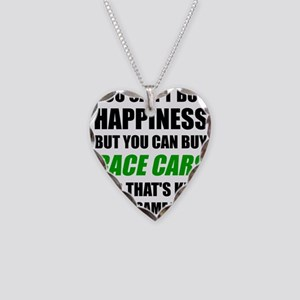 You Can't Buy Happiness But Y Necklace Heart Charm