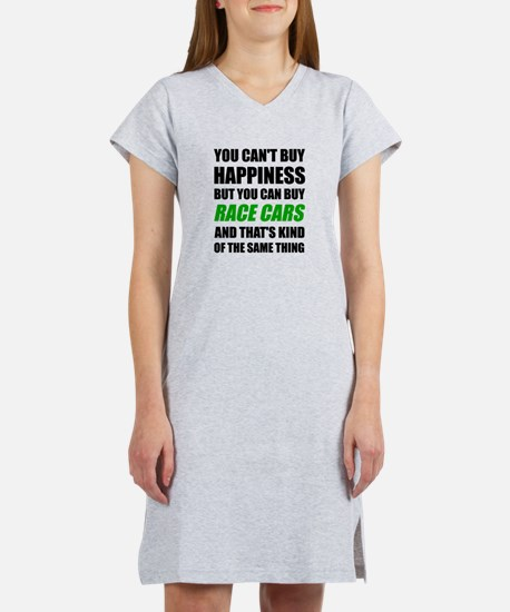 You Can't Buy Happiness But You Women's Nightshirt