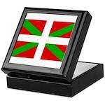 Basque Flag Keepsake Box