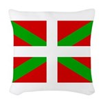 Basque Flag Woven Throw Pillow
