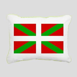 Basque Flag Rectangular Canvas Pillow
