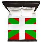 Basque Flag King Duvet