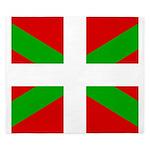 Basque Flag King Duvet