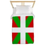 Basque Flag Twin Duvet