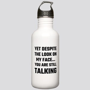 Yet Despite The Look O Stainless Water Bottle 1.0L