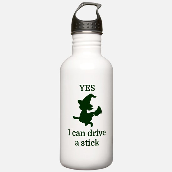 YES I can drive a stic Water Bottle