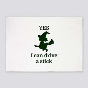 YES I can drive a stick 5'x7'Area Rug