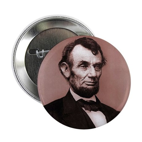 """Lincoln 2.25"""" Button (10 pack)"""